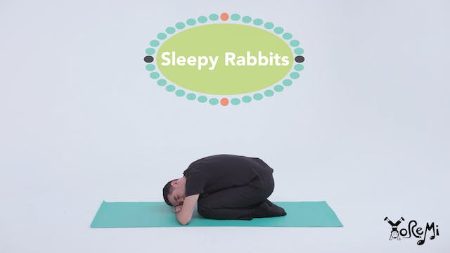 Sleepy Rabbits (Rabbit Pose & Child's...
