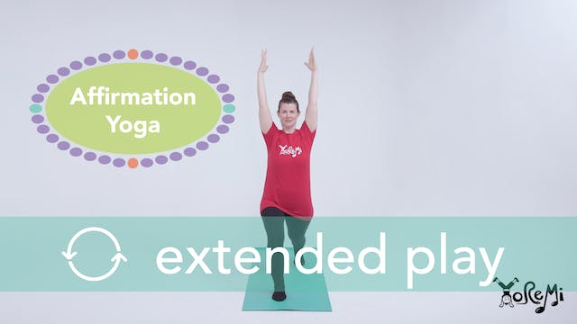 Affirmation Yoga (Power Poses) Extend...