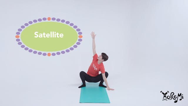 Satellite (Deep Squat with Twist)