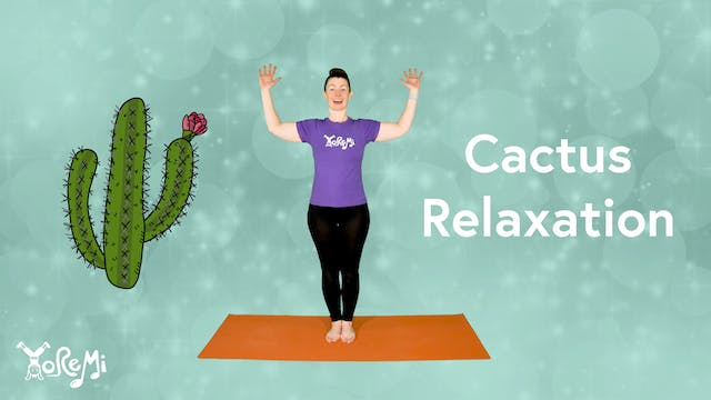 Cactus Relaxation (Reclined Twist)