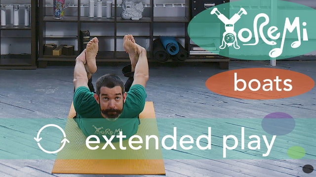 Boats (Boat and Bow Pose) Extended Play