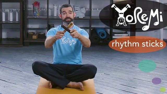 Rhythm Sticks (Sing-Along)