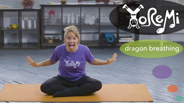 Dragon Breathing (Breathing Activity)
