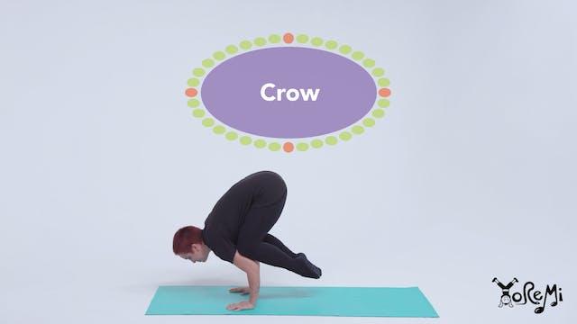 Crow (Crow Pose)