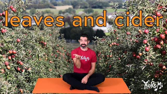 Leaves and Cider (Fall Mindfulness Activities)
