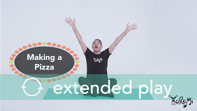 Making A Pizza (Sing-Along) Extended Play