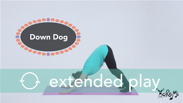 Down Dog (Downward Facing Dog with Split) Extended Play