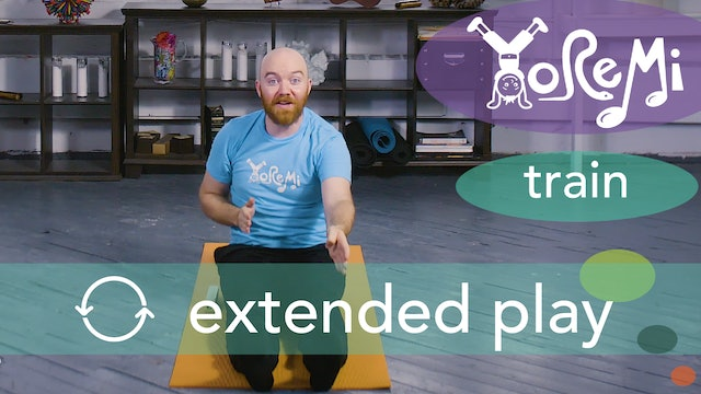 Train (Seated Forward Fold) Extended Play