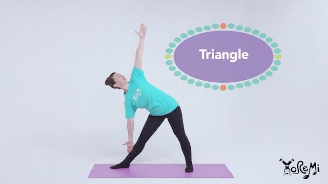 Try A Triangle (Triangle Pose)
