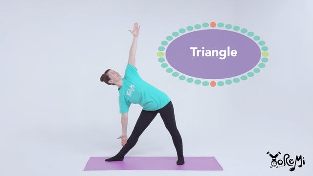 Try A Triangle (Triangle Pose)