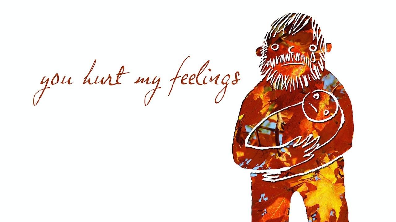 You Hurt My Feelings