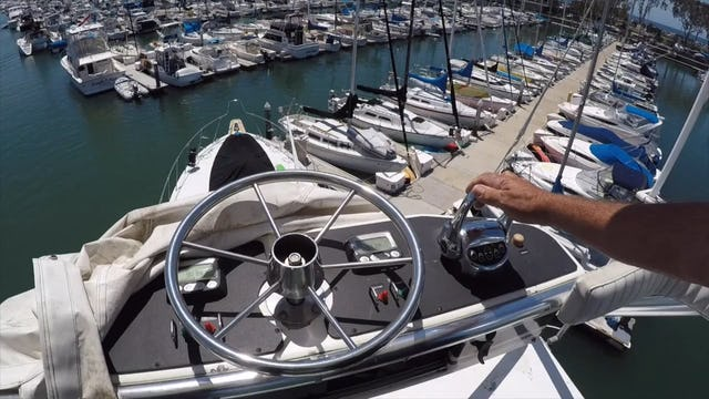 HOW TO DOCK YOUR BOAT