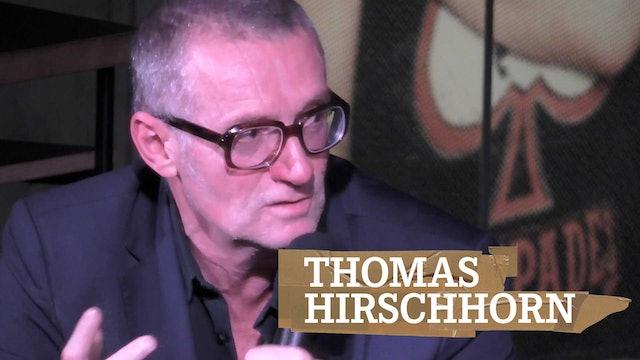 Guest Talk with Thomas Hirschhorn