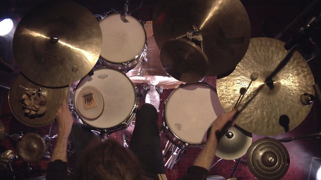 MONTAGS #672 - Nicolas Stocker Drum Solo