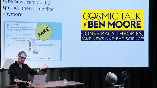 Conspiracy theories, fake news and bad science!