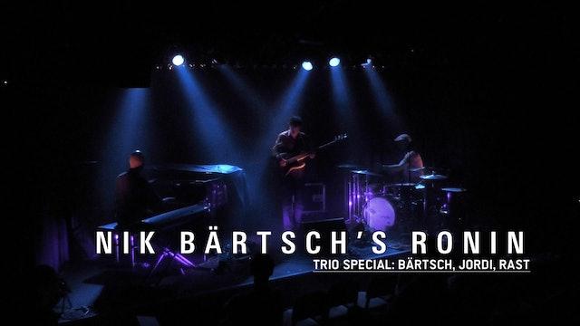 MONTAGS #757 - Nik Bärtsch's RONIN TRIO SPECIAL