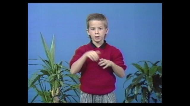 9B Fingerspelling - Children Signers
