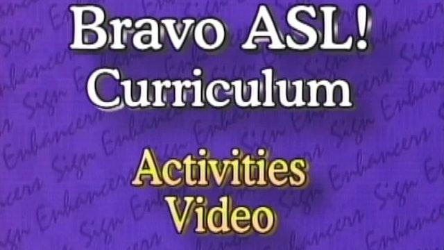 ASL18 Activities Video