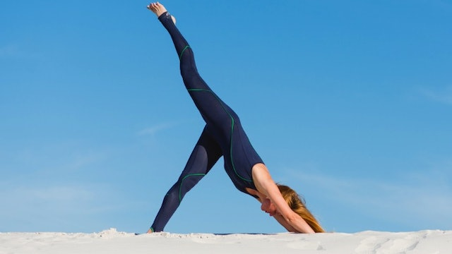 Flying Splits Vinyasa