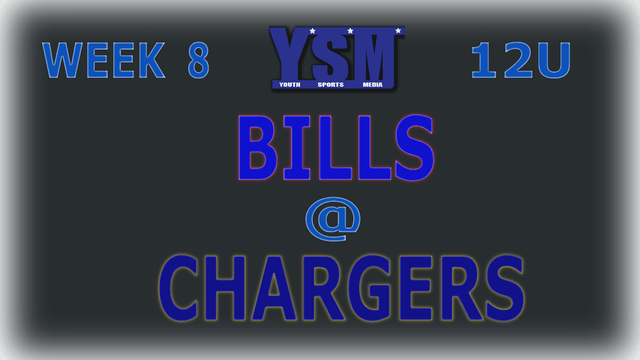WEEK 8: 12U BILLS @ CHARGERS