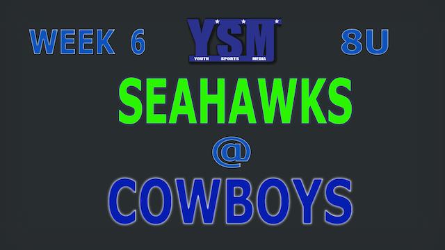 WEEK 6: SEAHAWKS @ COWBOYS