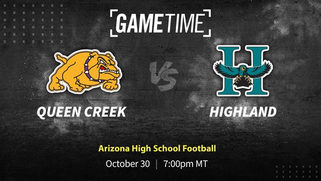 Rent: Queen Creek Knocks Off Undefeated Highland