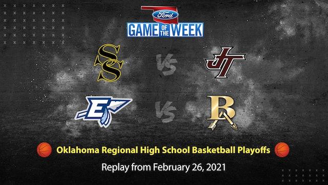 Oklahoma 6A Regional High School Basketball Replay