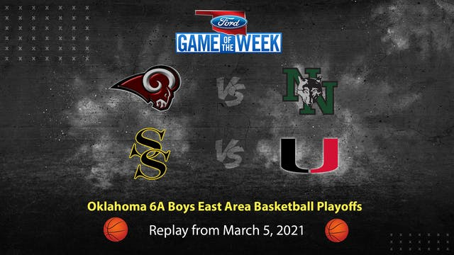 Oklahoma 6A Boys East Area Basketball...