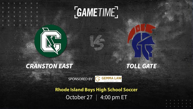 Cranston East Scores Late Goal to Defeat Toll Gate