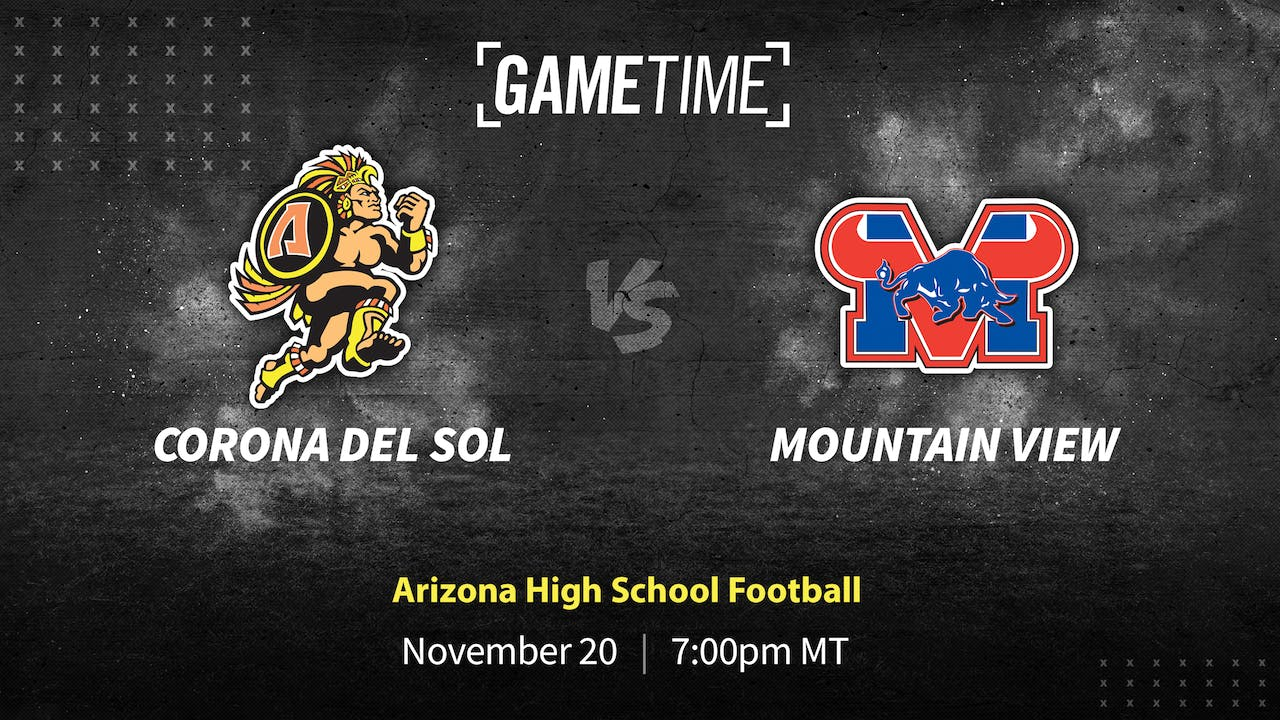 Buy: Corona del Sol Undefeated vs. Mountain View