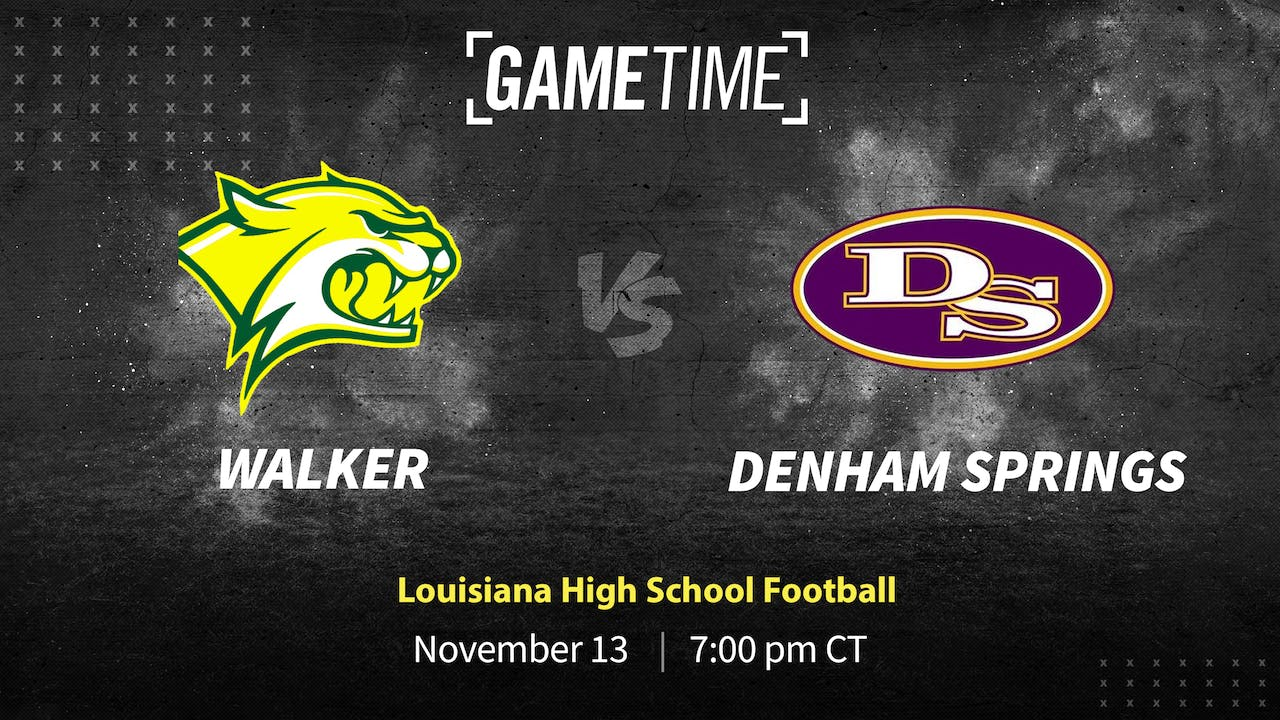 Buy: Denham Springs Wins One for #77