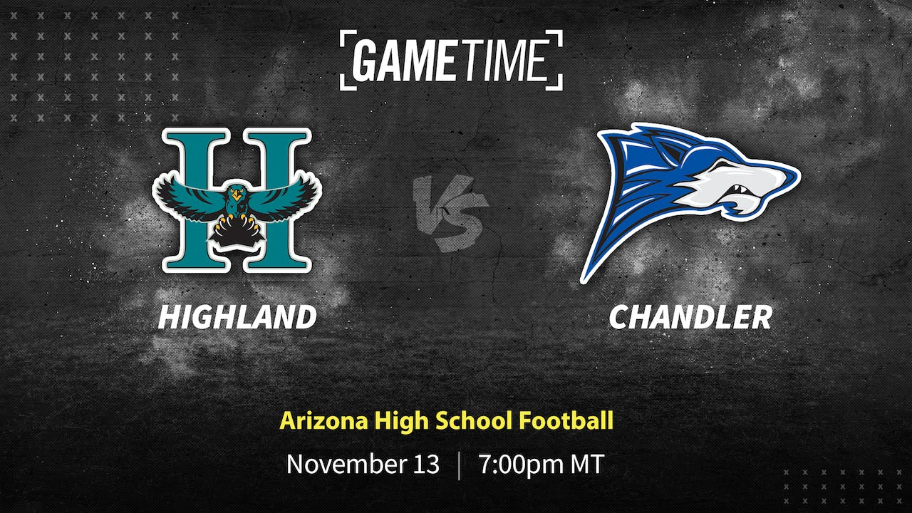 Buy: Chandler Gets Hard Fought Win Over Highland