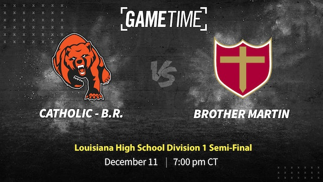 Catholic B.R. Advances Past Brother Martin
