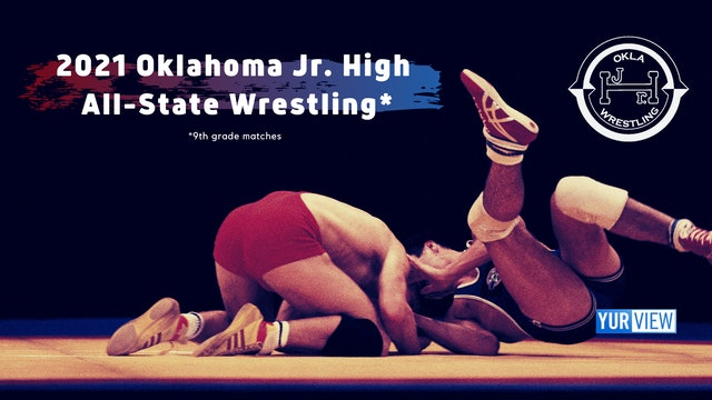 2021 Oklahoma Jr. High All-State Wrestling (Replay)
