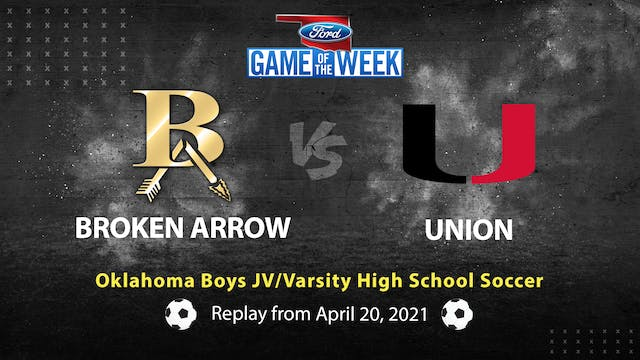 Rent: Broken Arrow vs Union High School Soccer