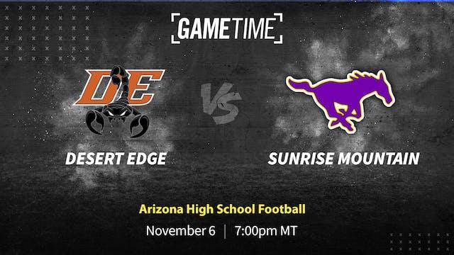 Buy: Desert Edge vs. Sunrise Mountain Shootout