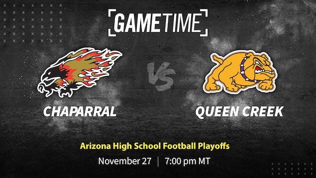 Chaparral vs Queen Creek: AZ High School Football