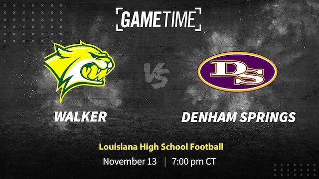 Denham Springs Gets First Win of Season Over Walker