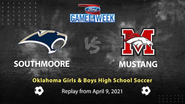 Oklahoma High School Soccer: Southmoore vs Mustang