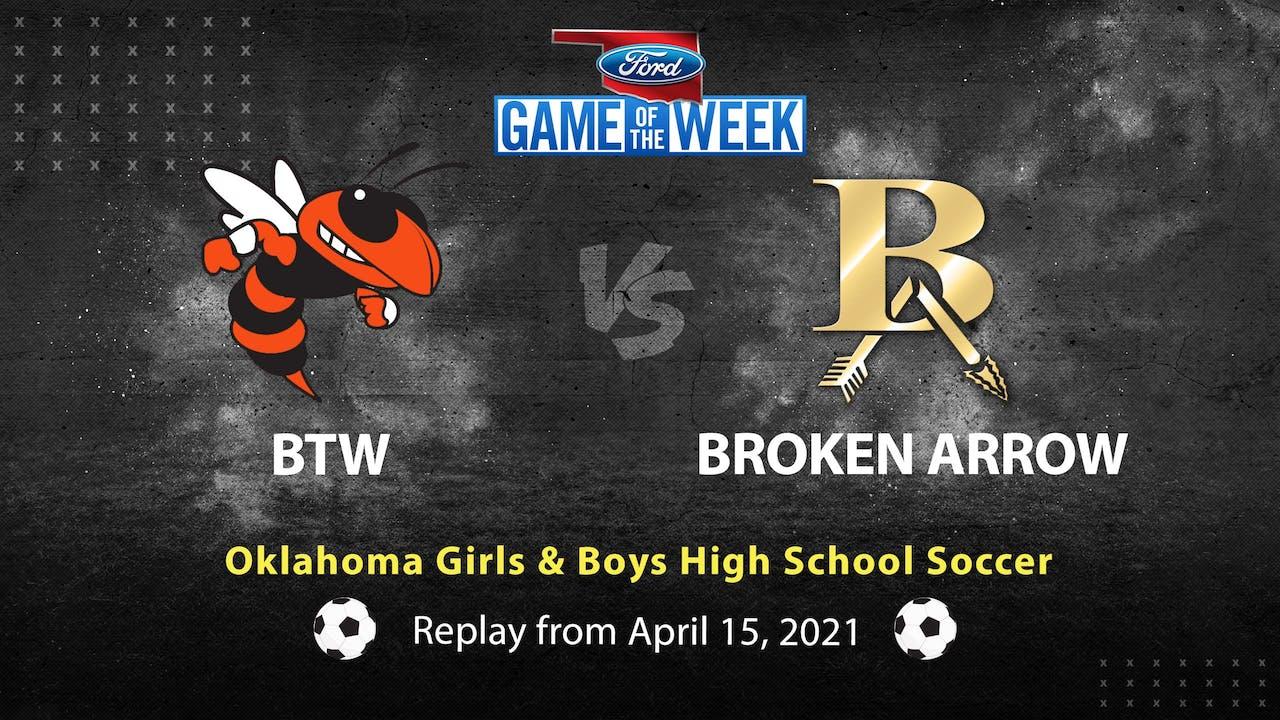 Buy: Booker T. Washington vs Broken Arrow Soccer