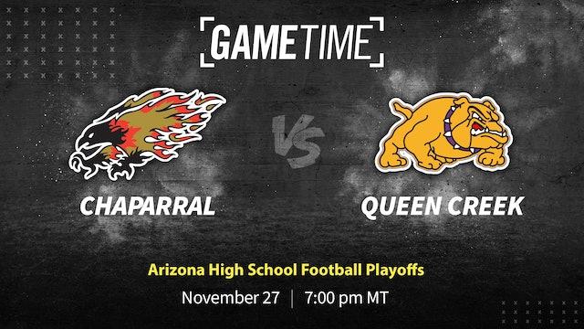 Chaparral vs Queen Creek: Arizona High School Football Playoffs