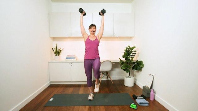 Upper Body & Core Strength-Building Workout (30 min) - with Hana Weinwurm
