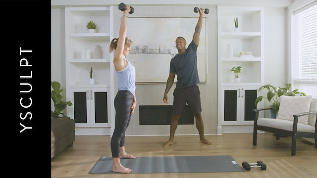 YSculpt Intermediate: for Athletes (45 min) — with Kevin Maynard