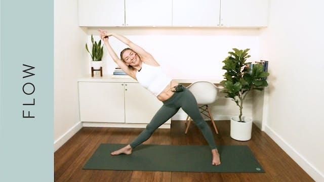 Side Body Flow Yoga (45 min) — with J...