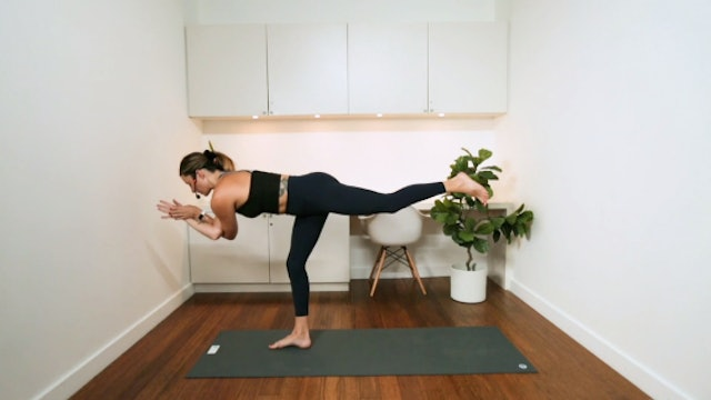 Morning Yoga Flow (35 min) - with Vanessa Bourget
