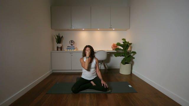Pranayama Practice for Calming the Mi...