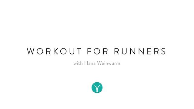 Workout for Runners (30 min) - with Hana Weinwurm