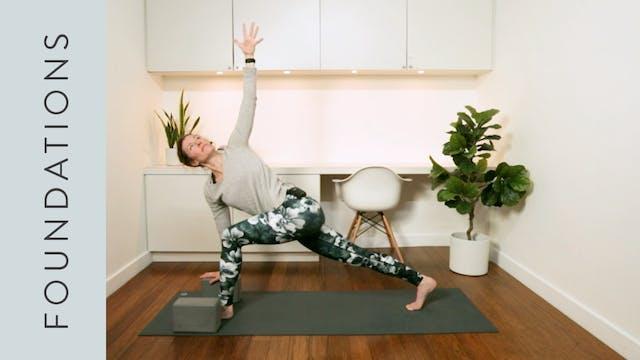 Yoga Foundations (25 min) –with Rach...