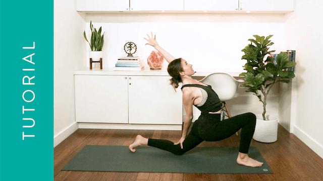 Tutorial: Low Lunge (10 min) — with Alison Klektau