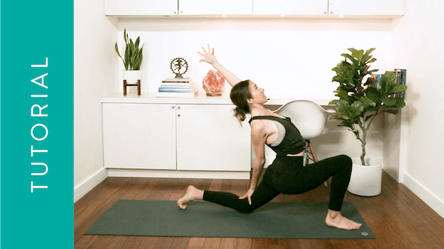 Tutorial: Low Lunge (10 min) — with A...